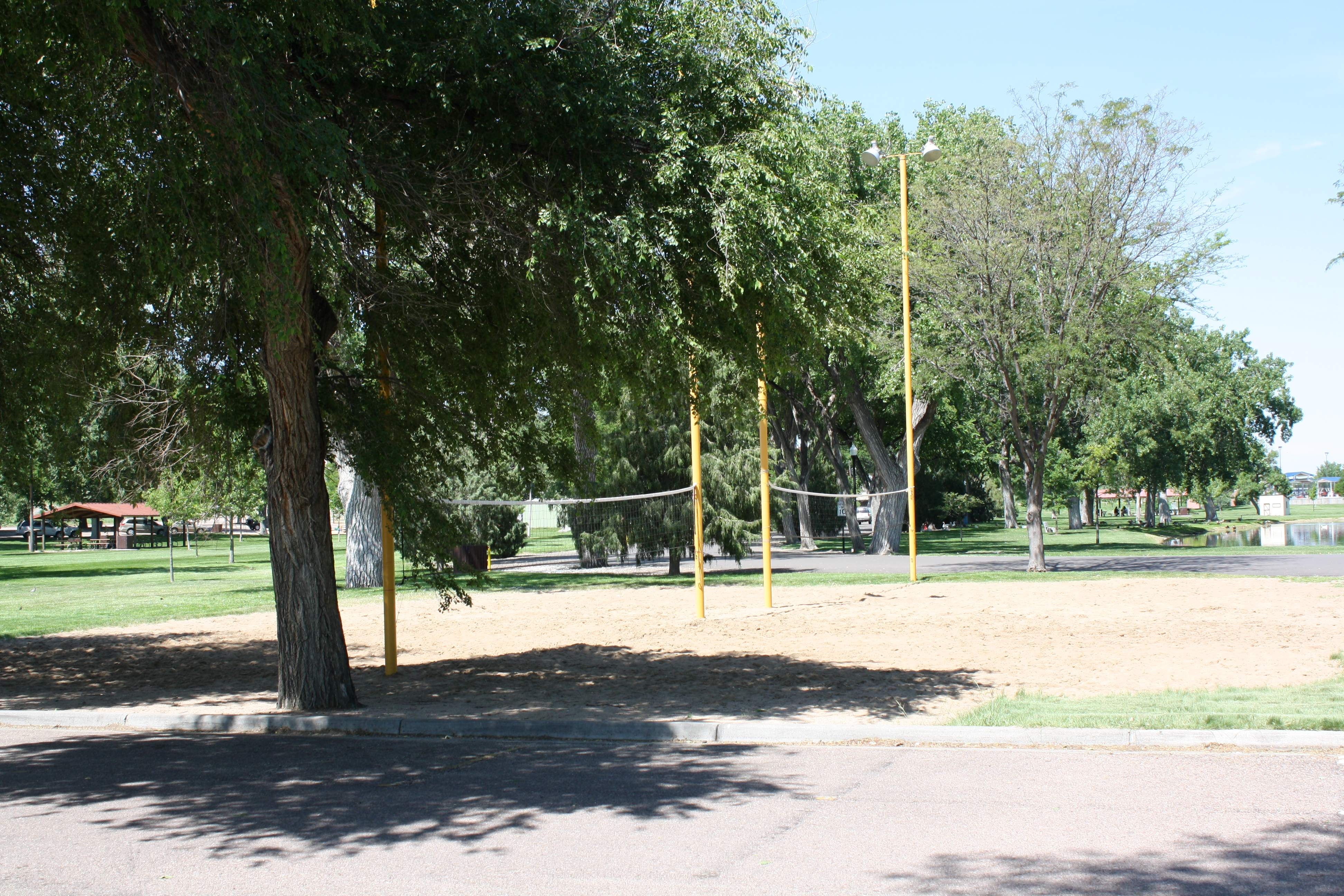 Riverside Park.Sand Volleyball Courts